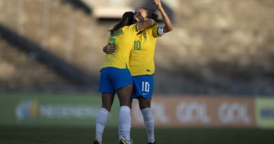 Bahia Notícias / Esportes / Notícia / Com gol de Marta, Brasil vence Argentina novamente em amistoso no Almeidão   20/09/2021