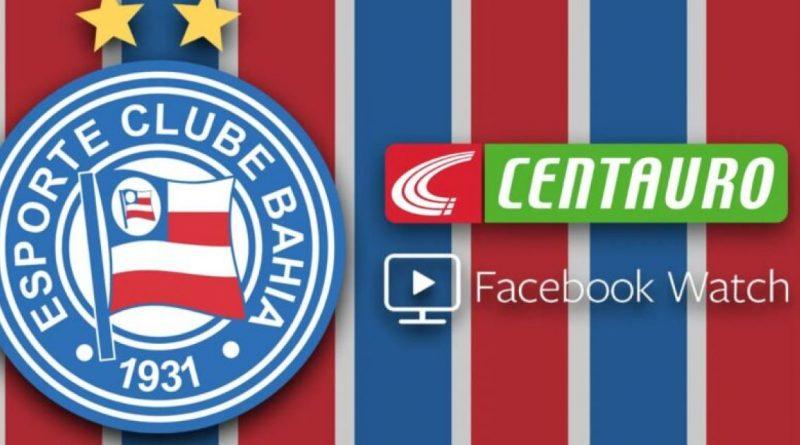 Bahia Notícias / Esportes / E.C. Bahia / Bahia fecha parceria com Facebook e Centauro para produção de conteúdos   12/10/2021