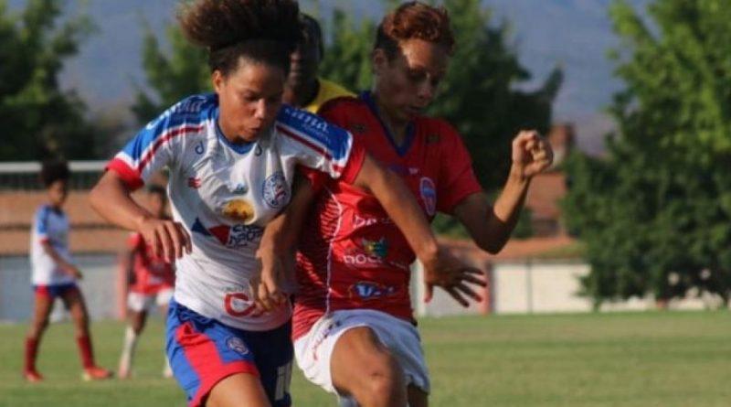 Bahia Notícias / Esportes / E.C. Bahia / Bahia vai precisar reverter placar contra o Doce Mel para levar o Baianão Feminino   11/10/2021